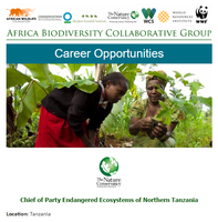 Africa Biodiversity Collaborative Group Career Opportunities March 2017