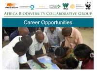 Africa Biodiversity Collaborative Group Career Opportunities October 2017