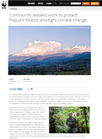 Community Leaders Work to Protect Papua's Forests and Fight Climate Change