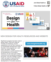New Design For Health Resources and Website
